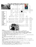 The Life of Dr. Martin Luther King Jr. Crossword or Web Quest