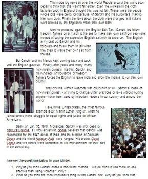 The Life of Gandhi