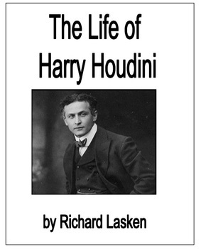 The Life of Harry Houdini biography easy reader kit