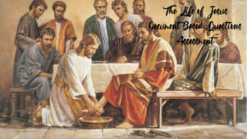 The Life of Jesus INTERACTIVE DBQ Activity - FUN and ENGAGING!