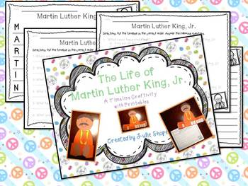 The Life of Martin Luther King, Jr. {A Timeline Craftivitiy with Printables}