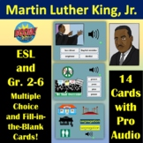 The Life of Martin Luther King, Jr.   Boom Cards   ESL   A