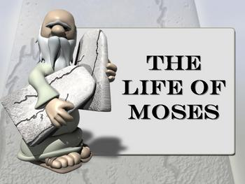 The Life of Moses Powerpoint Game