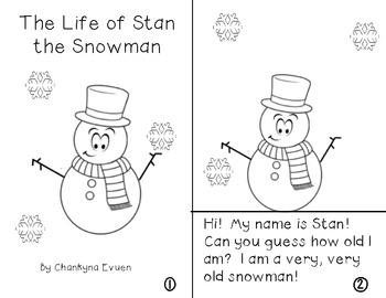 The Life of Stan the Snowman Reader (Water Cycle)