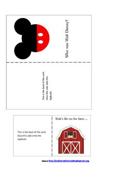The Life of Walt Disney Lapbook