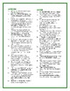 The Light in the Forest: Synonym/Antonym Crossword--Use wi