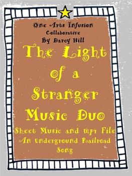 The Light of a Stranger Music Duo: Sheet Music and an MP4 File (an UGRR Song)