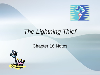 The Lightening Thief Chapter 16 Vocabulary PowerPoint