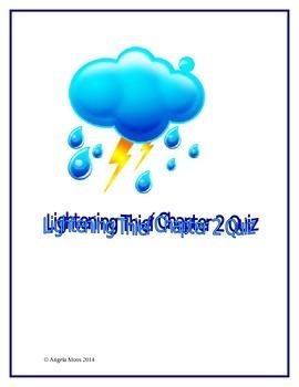 The Lightening Thief Chapter 2 Quiz