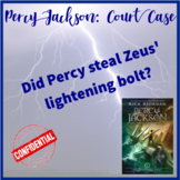 The Lightening Thief: Court Case
