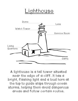 The Lighthouse Family: The Storm - Vocabulary & Comprehension Guide
