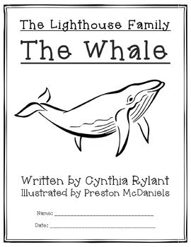 The Lighthouse Family: The Whale - Chapter Book Study Guide