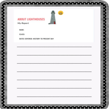 The Lighthouse Keeper's Catastrophe: Fun Lessons and Resources