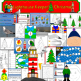 The Lighthouse Keeper's Christmas book activity pack