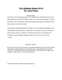 The Lightning Queen by Laura Resau Guided Reading Packet
