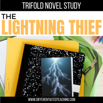 The Lightning Thief Foldable Novel Study Unit