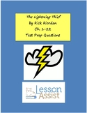 The Lightning Thief Ch. 1-22 Test Prep / Study Guide Questions
