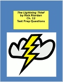 The Lightning Thief Ch. 12 Test Prep / Study Guide Questions
