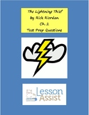 The Lightning Thief Ch. 2 - Test Prep / Study Guide Questions