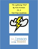 The Lightning Thief Ch. 3 - Test Prep / Study Guide Questions
