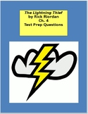 The Lightning Thief Ch. 4 - Test Prep / Study Guide Questions
