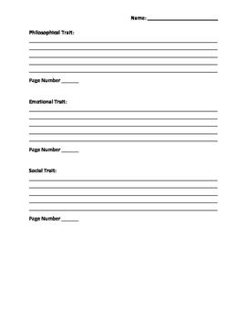 The Lightning Thief Character Analysis -