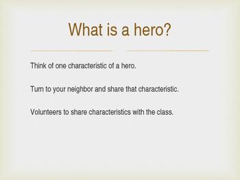 The Lightning Thief Characterization - Hero Lesson