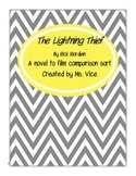 The Lightning Thief Compare and Contrast (Novel and Film)