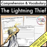 The Lightning Thief: Comprehension and Vocabulary by chapter