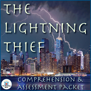 The Lightning Thief Comprehension and Assessment Bundle