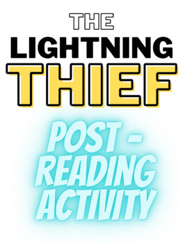 The Lightning Thief End-of-Book Activity