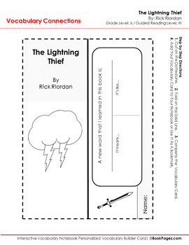 The Lightning Thief Lesson Plan, (Book Club Format - Determining Theme) (CCSS)