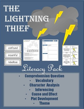 The Lightning Thief - Literacy Pack