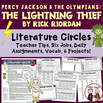The Lightning Thief Literature Circle Activities
