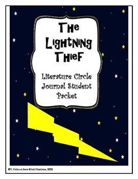 The Lightning Thief Literature Circle Journal Student Packet