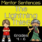 The Lightning Thief - Mentor Sentences **Ten Sentences with Answer Keys**