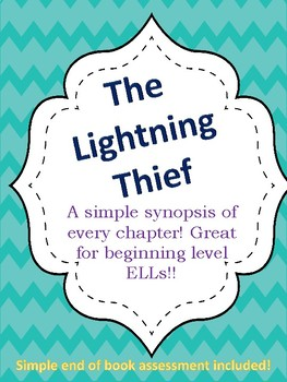 The Lightning Thief Modified Version for Entering and Emerging ELLs