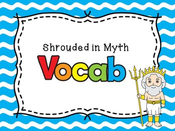 The Lightning Thief Module 1 Lesson 1 Vocabulary