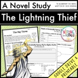 The Lightning Thief Novel Study Unit: comprehension, vocab, activities, tests