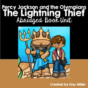 The Lightning Thief Novel Study: Abridged Book Unit