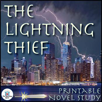 The Lightning Thief Novel Study Book Unit Printable Version