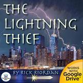 The Lightning Thief Novel Study Book Unit