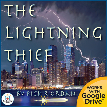 The Lightning Thief Novel Study Book Unit Distance Learning
