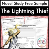The Lightning Thief Novel Study Unit: FREE Sample
