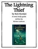 The Lightning Thief - Novel Study Guide
