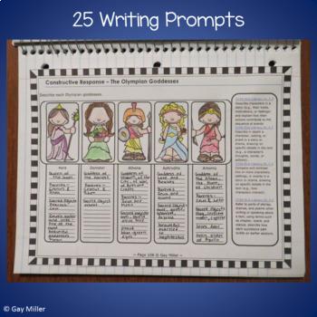 The Lightning Thief Novel Study: vocabulary, chapter quizzes, writing, skills