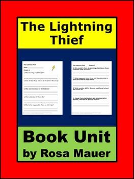 Lightning Thief Literacy Unit