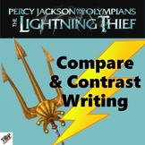 The Lightning Thief Percy Jackson Compare and Contrast Writing Unit