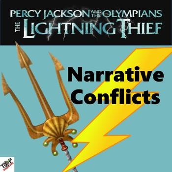 The Lightning Thief Percy Jackson Narrative Internal External Conflict