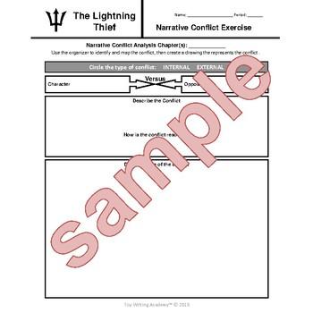 The Lightning Thief Percy Jackson Narrative Internal